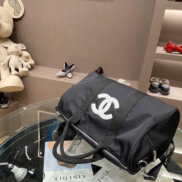 Chanel 小香新款實拍 網紅推薦款 外出旅行必備✈✈帆布面料 香奈兒超大旅行包
