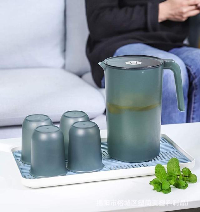 (預購s+) A527-家用簡約2L冷水壺+4杯子