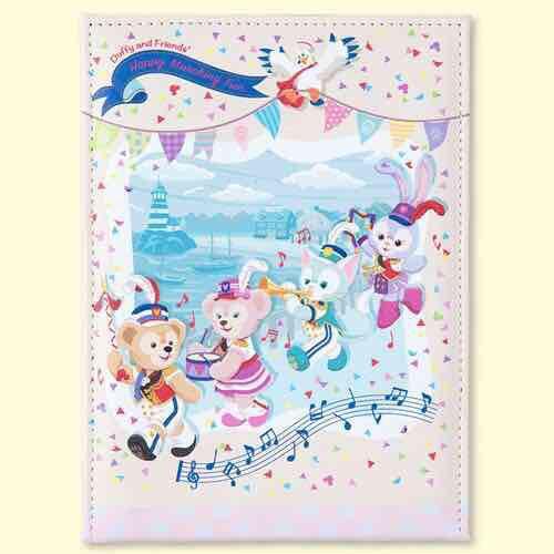 [預購]迪士尼海洋限定 35周年紀念版達菲家族隨身立鏡