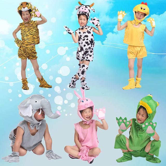 預購兒童表演服装 演出服装 卡通 動物套装(舞)
