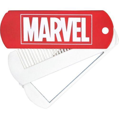MARVEL 隨身鏡 梳子
