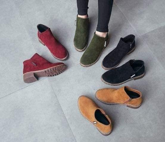 🔥冬季保暖百搭磨砂短靴🔥