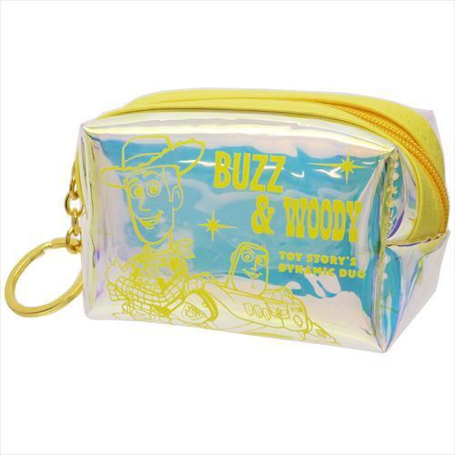 玩具總動員 方形 零錢包 極光 小包