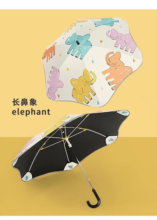 可愛圖案兒童專用反光雨傘