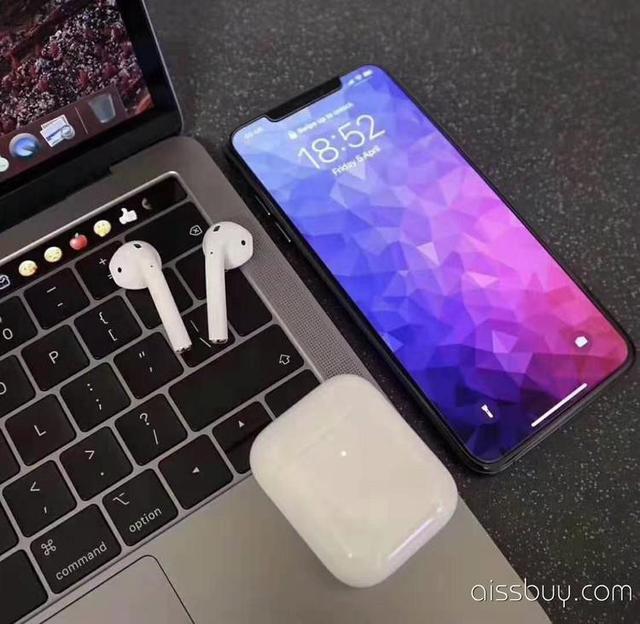 #AirPods 蘋果2代TWS無線 #藍牙耳機 支持無線充電 序列號可查蘋果官網查詢