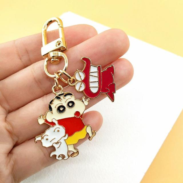 預購#小新情侶鑰匙扣掛件(2入)