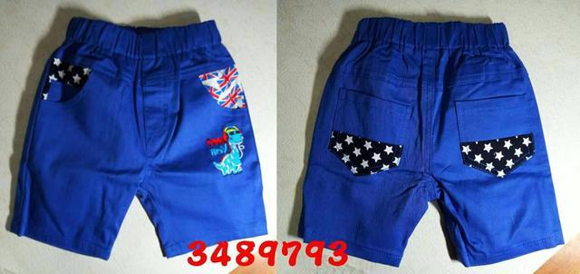 A現貨 3489793 藍色款💖恐龍星星短褲