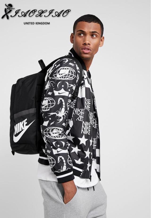 代购品质Nike耐克纯色拉链款双肩背包