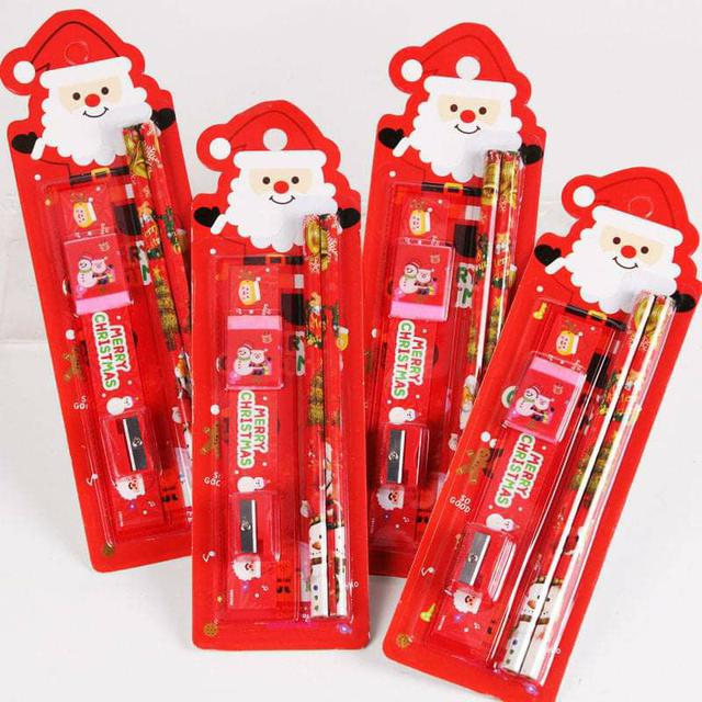 (預購S) G555 - 聖誕文具五件禮品組(一組4卡)