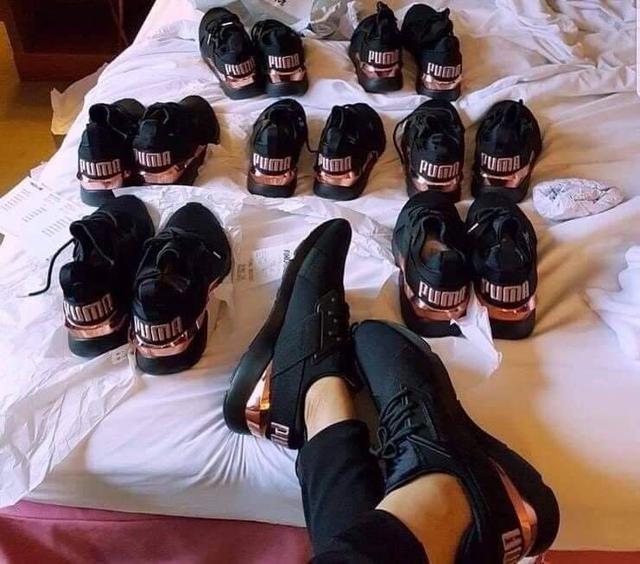 PUMA MUSE 玫瑰運動鞋