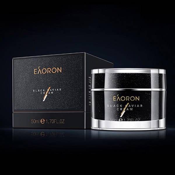 EAORON黑金魚子醬(鱘魚子)精華 黑素顏霜 50ml