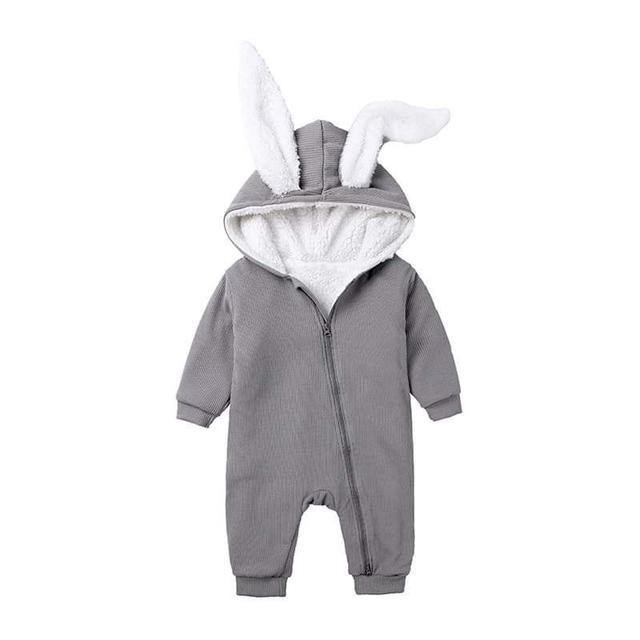 【預購】寶寶純棉兔裝(厚款)