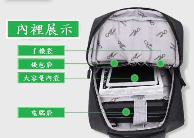 (預購S+)商務專用筆電後背包