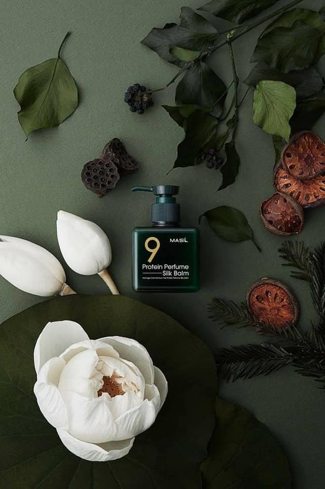 預購  韓國夯品 MASIL 瑪絲蘭 免沖洗 9肽抗熱香氛免沖護髮精華 180ml
