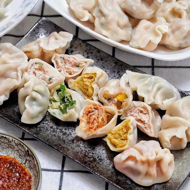 真材實料手作水餃/高麗菜/韭菜/蝦仁/玉米/咖哩/麻辣-任選