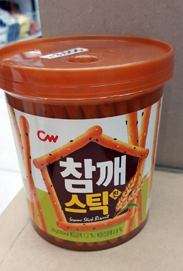 韓國CW 芝麻棒220g