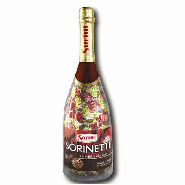 索利尼 香檳瓶巧克力
