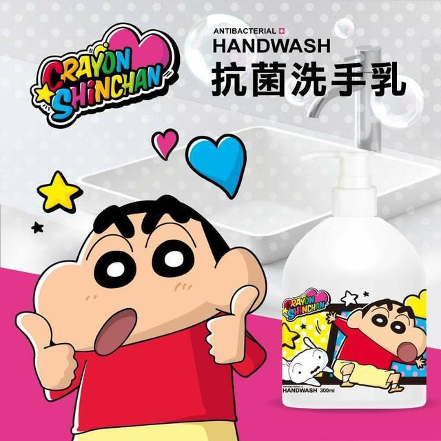 蠟筆小新 小蒼蘭抗菌洗手乳