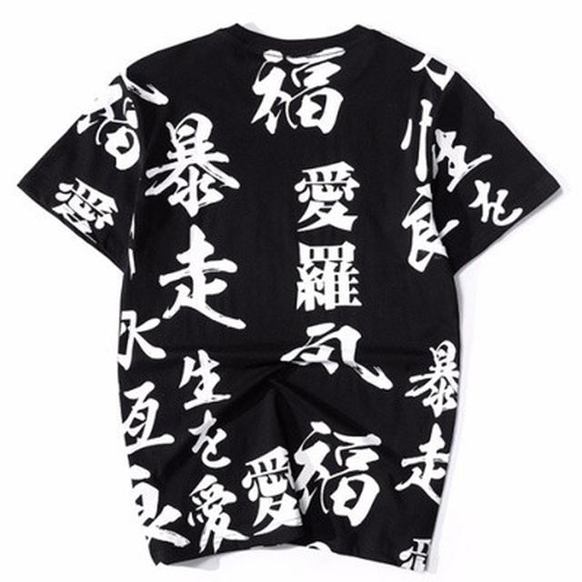 06 M-4XL 優質潮牌印花短袖T恤(2色)