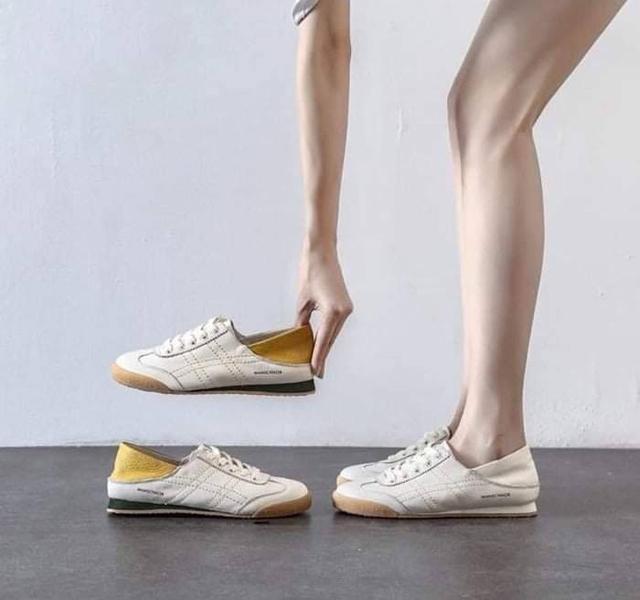 阿甘款兩穿軟皮小白鞋(35-40)