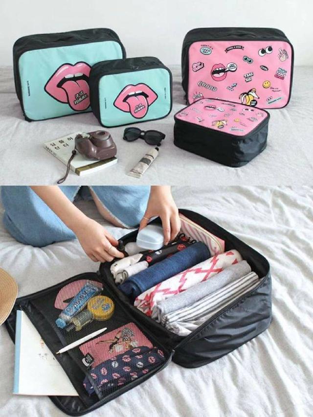 (預購S) G654 - 韓國行李箱收納旅行包