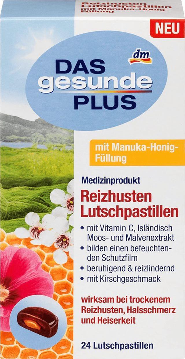 德國DAS gesunde PLUS 麥盧卡咳嗽糖