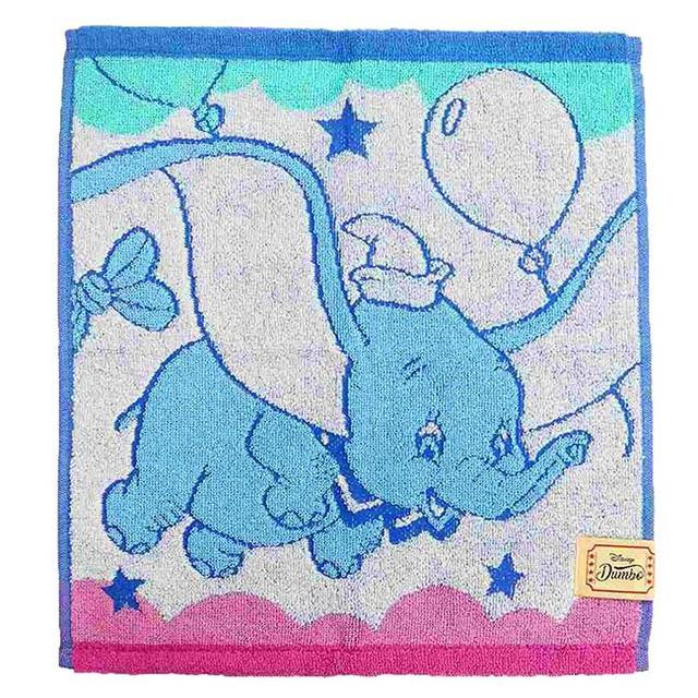 純棉方巾 小飛象