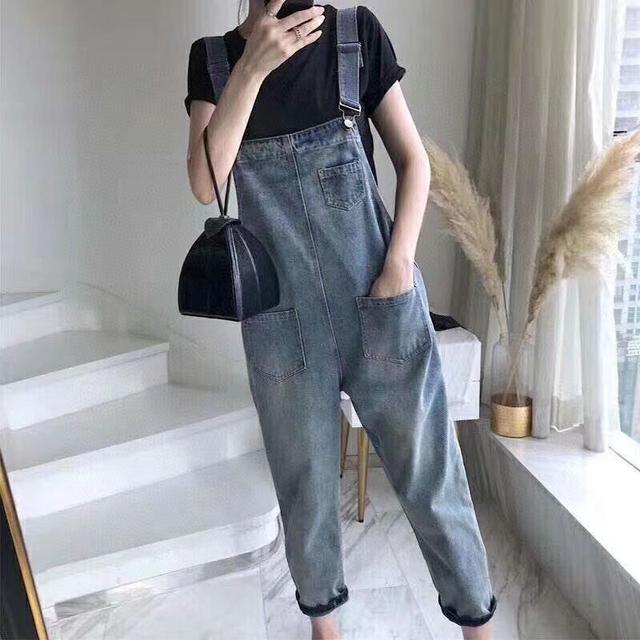 韓國背帶褲