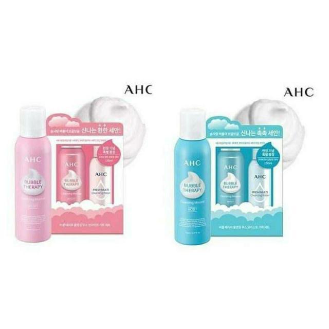 韓國 AHC 棉花糖慕絲洗顏套組 禮盒組