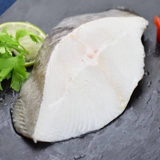 急速冷凍大比目鱈魚切片 210公克一片