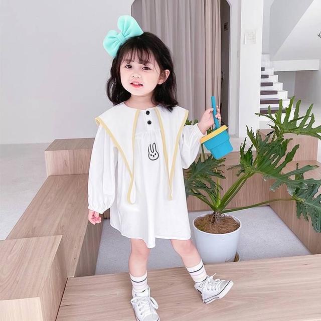 KD06-06 韓版小兔造型洋裝