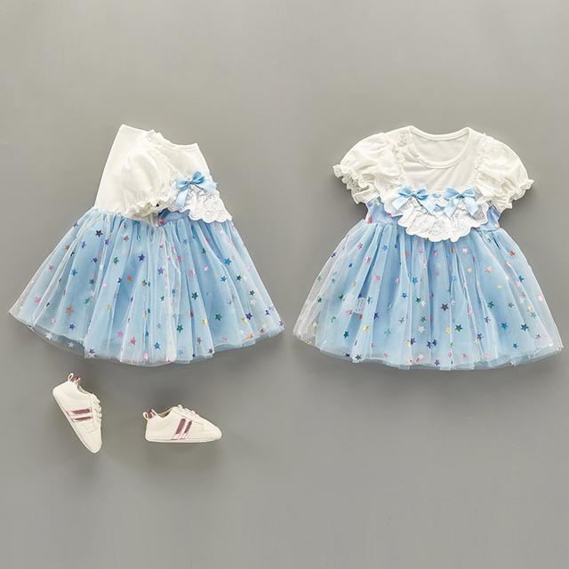 女寶寶連衣裙嬰兒可愛公主裙