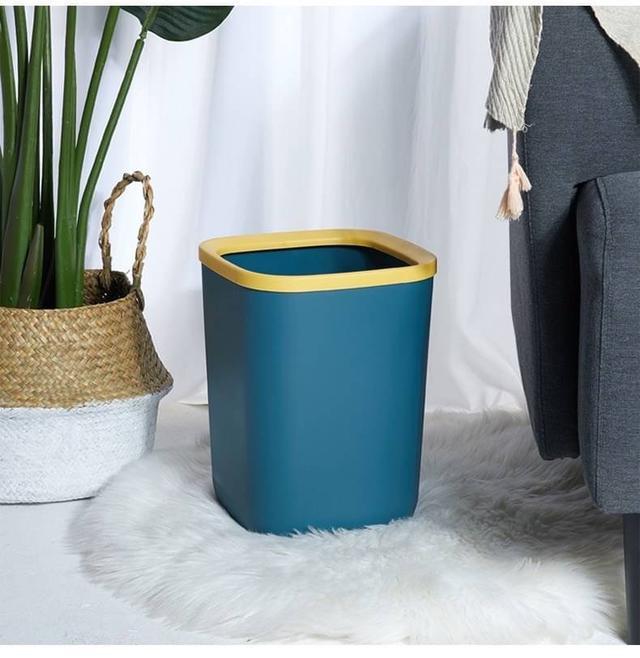 🌺 北歐風撞色垃圾桶、收納桶(預)