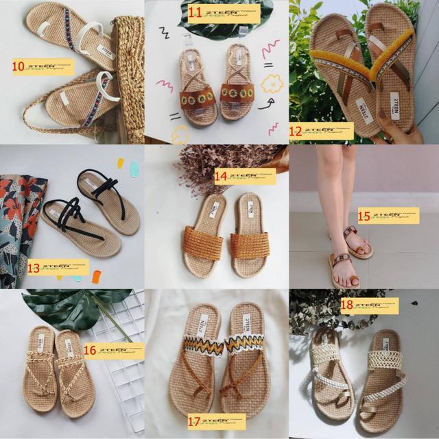 泰國2TEEN手工編織涼鞋