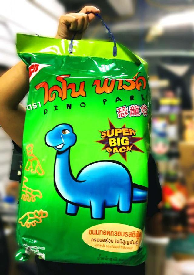 超大包 Dino Park小當家恐龍谷餅乾/泰國恐龍餅乾