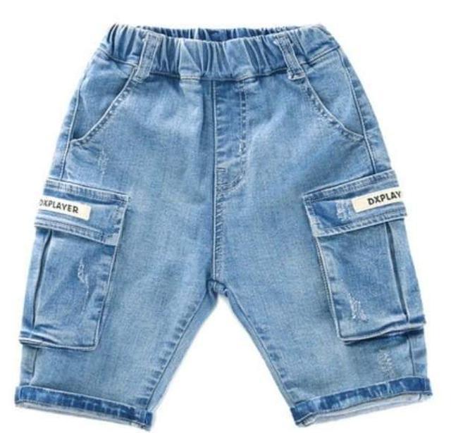 【預購】男童牛仔短褲
