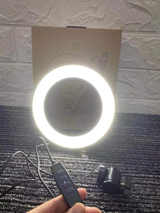 📍預購📍👉🏻多檔位調光6寸遙控補光燈👈🏻📣自拍、直播必備網紅商品📣