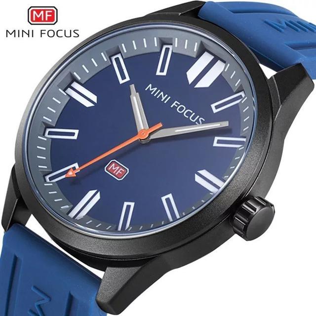 預購 - Mini Focus 精品手錶 黑藍色