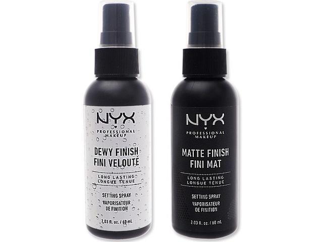 NYX 專業後台 霧感定妝噴霧/光感定妝噴霧