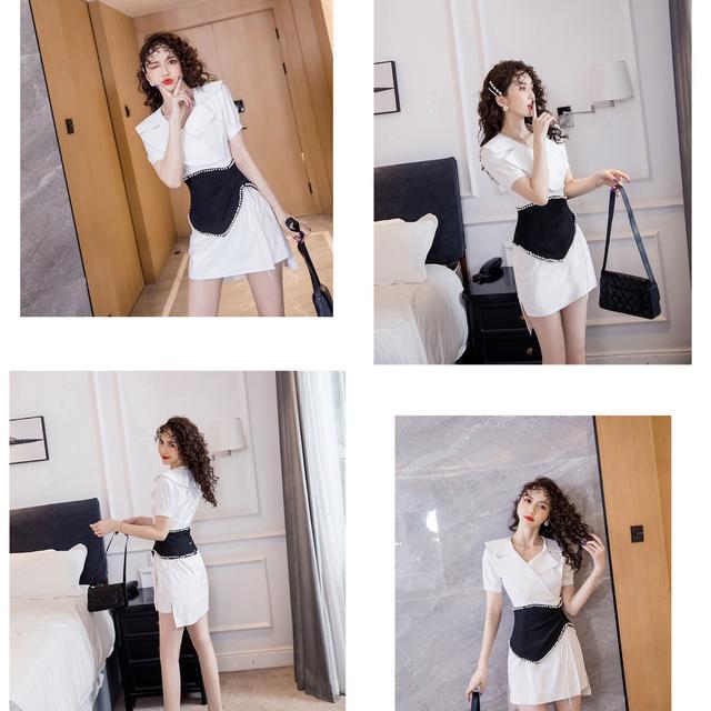 預購6-9天到韓版時尚氣質修身連衣裙