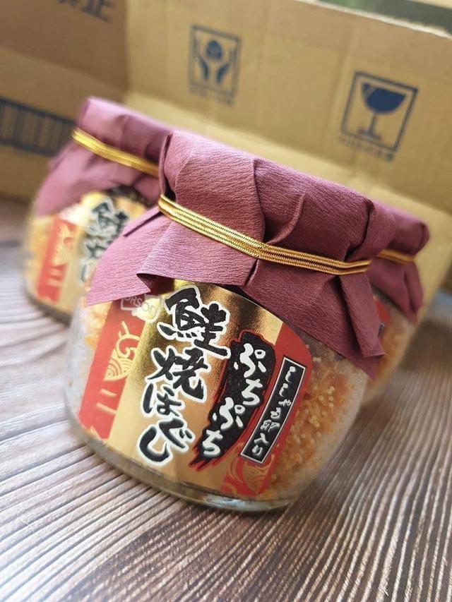 日本北海道啵啵口感魚卵鮭魚鬆58g