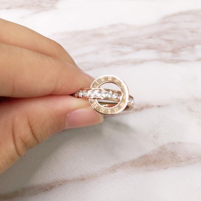 (預購e) 黃大仙 羅馬璀璨雙圈催財戒指