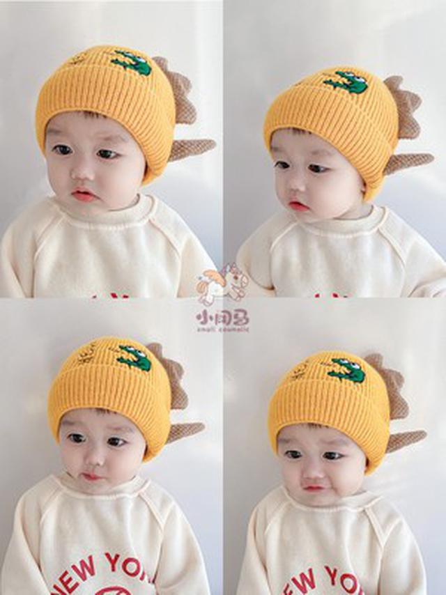 秋冬季可爱超萌兒童卡通毛線帽(貝)