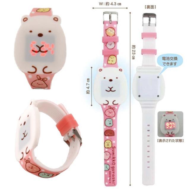 日本、角落生物發光電子手錶