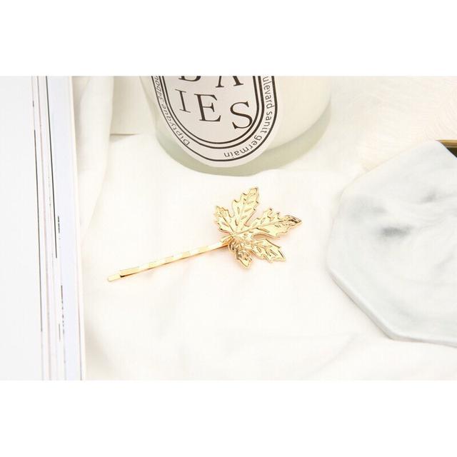 190826038復古楓葉子樹葉韓國韓式髮飾髮夾
