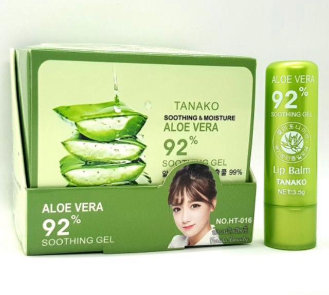 Tanako 92%蘆薈變色潤唇膏