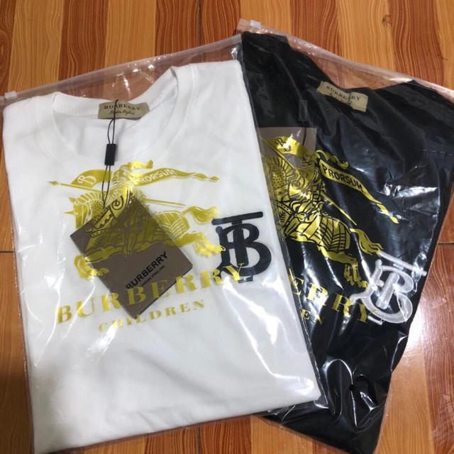 20夏歐洲站B家刺繡短袖t恤男士潮牌個性時尚格子印花修身大碼半袖