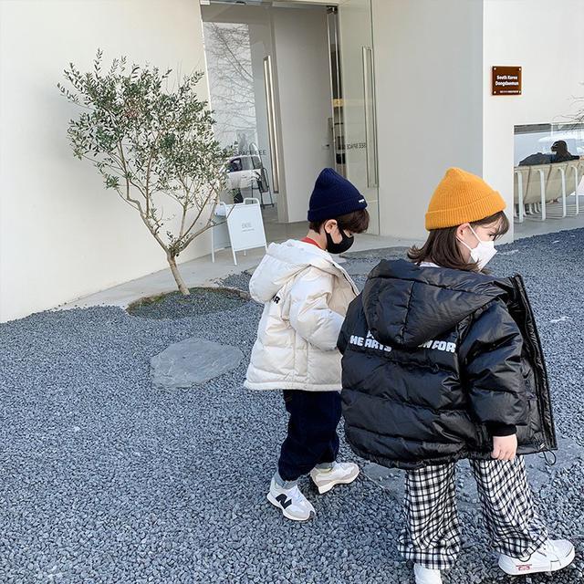 兒童羽絨服2021冬季新款