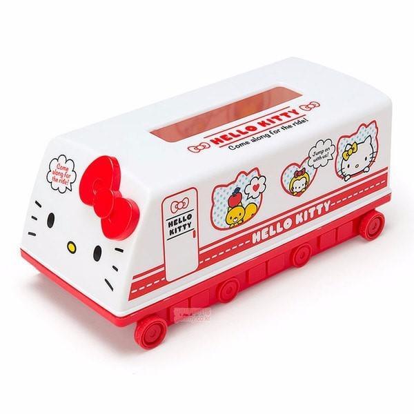 現貨 日本 正品 Hello Kitty 硬殼 面紙盒套 面紙收納