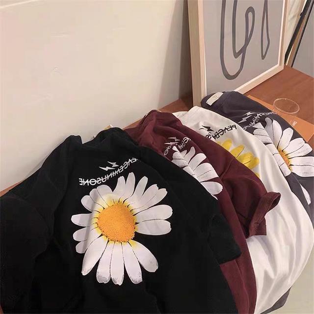 【65-200斤】明星同款短袖t恤女2020春夏季韓版寬松ins潮上衣學生